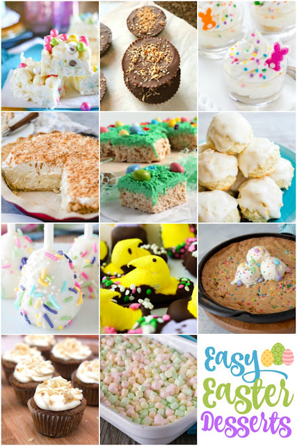 Need easy dessert ideas for Easter? You can't go wrong with these spring inspired recipes!