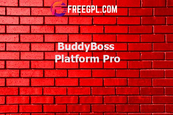 BuddyBoss Platform Pro Nulled Download Free