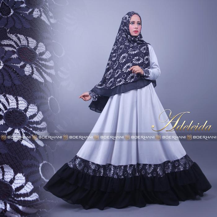 Jual Baju Hijab Glamour  Adeleide Syar By Boerhani