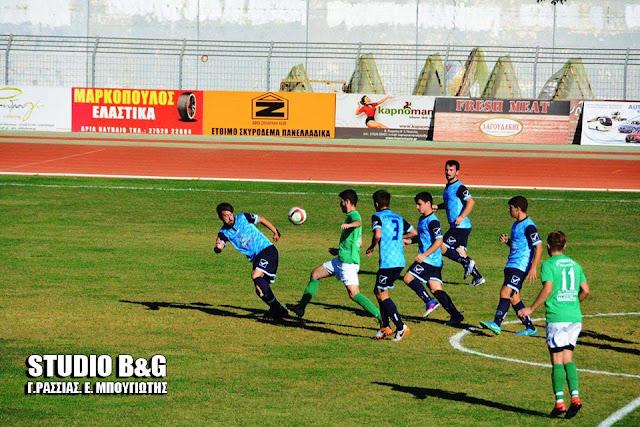 5-1 νίκησε ο Ατρόμητος Παναριτίου τον Πορτοχελιακό στο Ναύπλιο