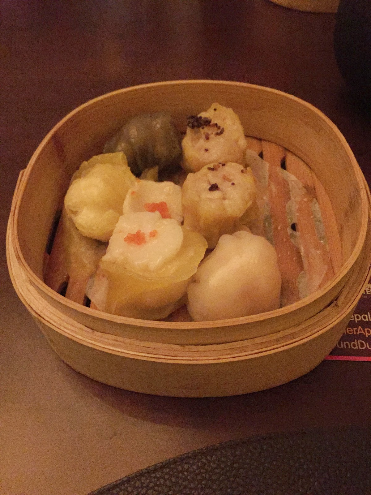 Bā Restaurant & Lounge: selection of dim sum