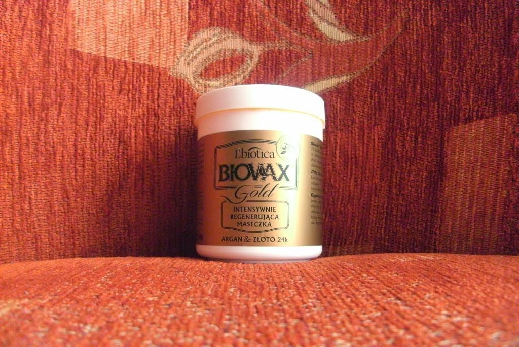 Maseczka biovax gold - jak złotko dogadało się z moimi falami? :)