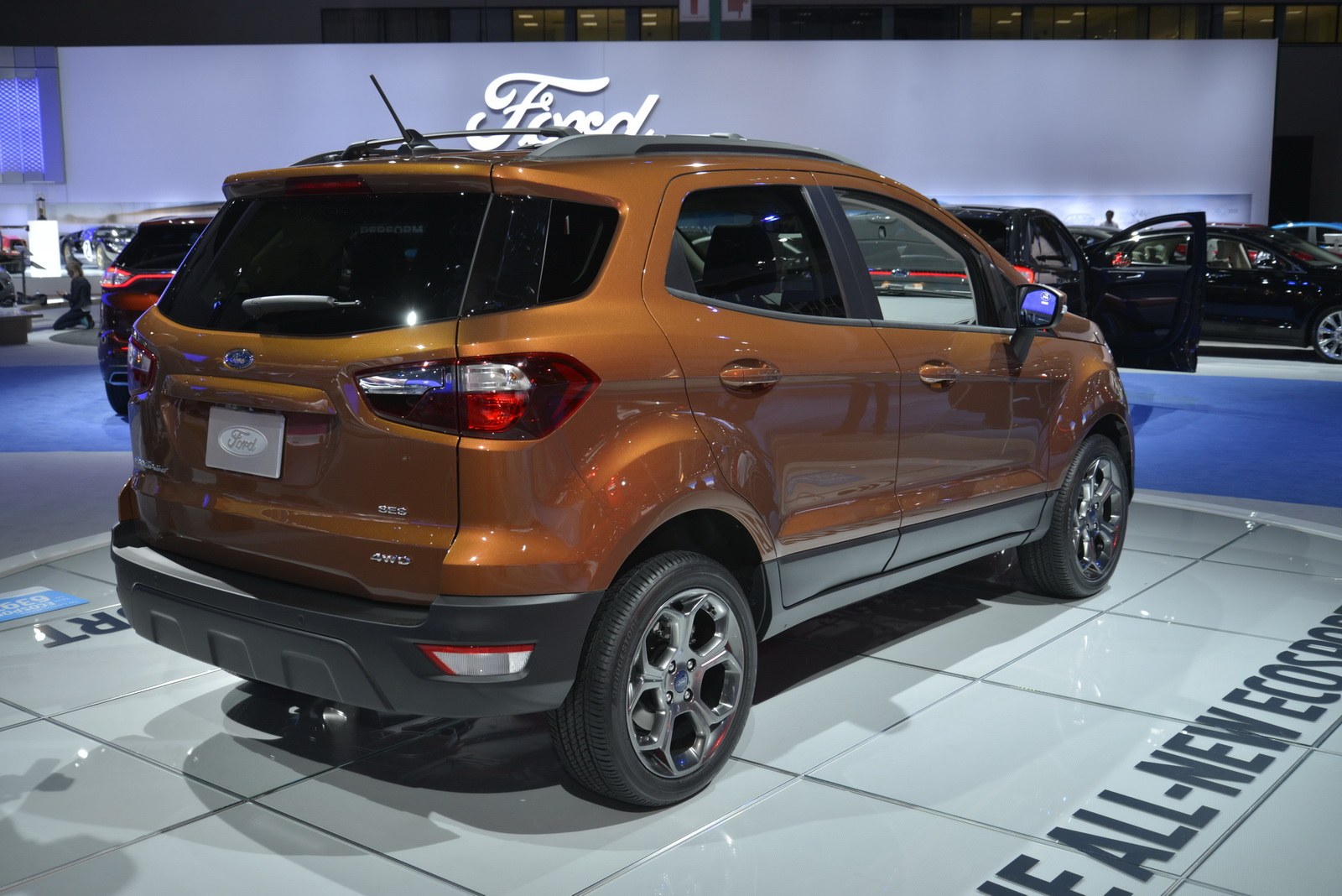 Fords Baby SUV The New EcoSport Lands In The US