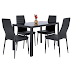 Best Choice Products 5 Piece Kitchen Dining Table Set