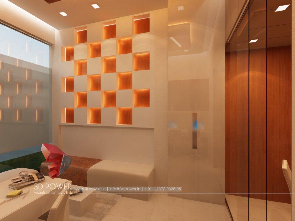 3D Interior Designs | Interior Designer: Modern Office ...