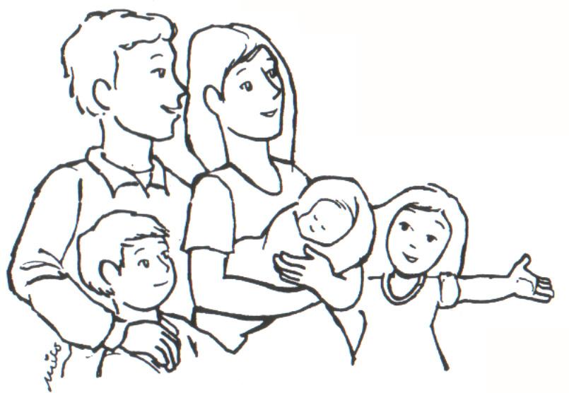 Imagenes De Tipos De Familia Para Colorear La Importancia De La