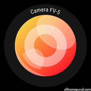 Camera fv 5 lite app