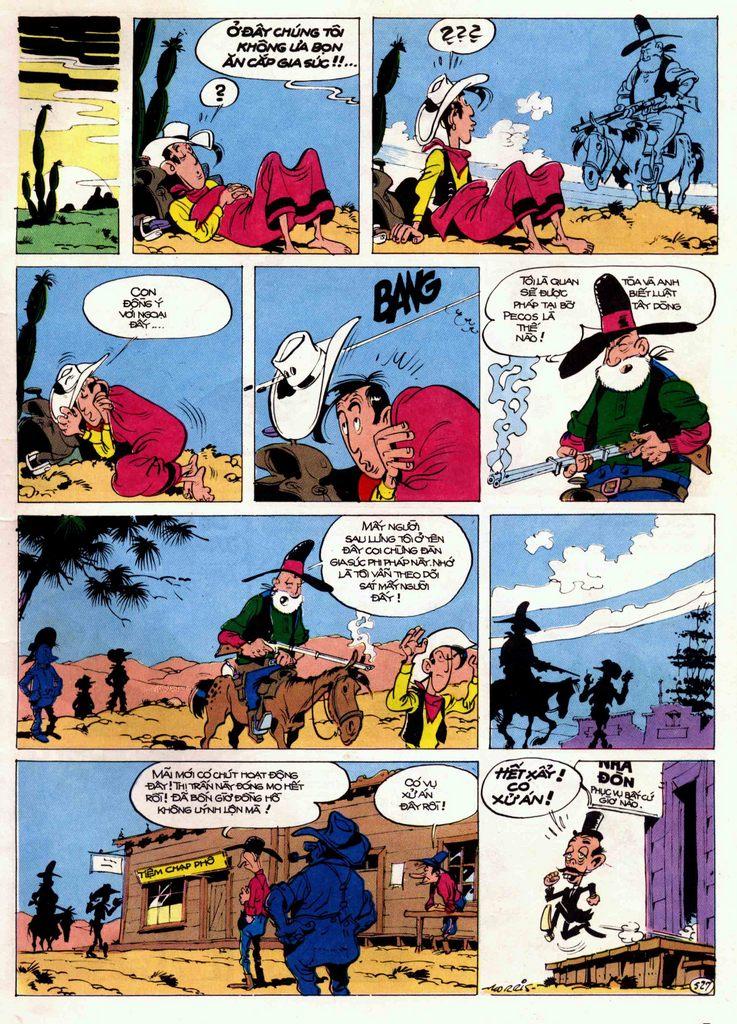 Lucky Luke tập 21 - sợi dây biết hát trang 7