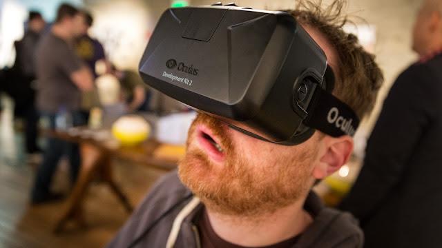 Oculus Rift Constellation RealidadVirtual