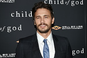 James Franco and other stars at a private screening of the film 'Children of God'