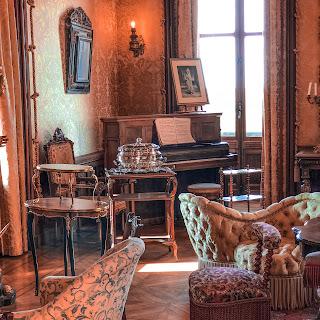 The New Blacck - Orléans - Blog - Chaumont sur Loire - Intérieur château - salon 2