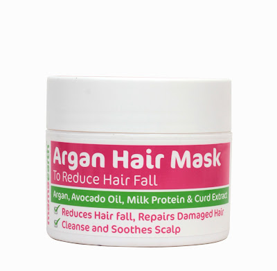 Mamaearth Argan Hair Mask | Review