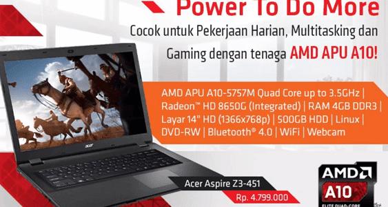Acer laptop untuk desain harga 4 jutaan