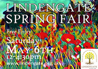 Lindengate Spring Fair Poster Free Entry Saturday 6th May 12 till 4-30pm