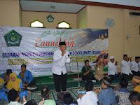 KUA Kunjang Lounching Gerakan Menulis Mushaf Al-Qur'an