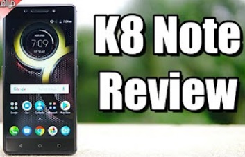 Lenovo K8 Note Review | Tamil
