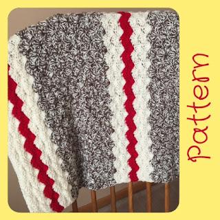 crochet sock monkey baby blanket pattern