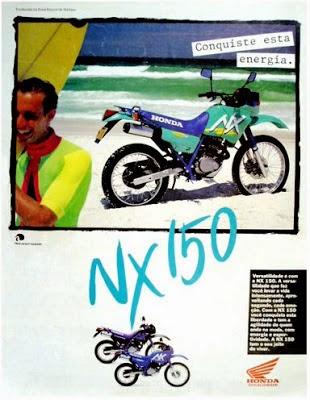 Honda+NX+150 - HONDA NX150 - INÍCIO DE UMA NOVA ERA
