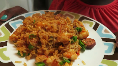 How to Make Spicy Shrimp and Sausage Jambalaya | Family Cooking