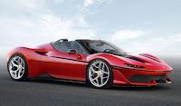 Sadece 10 Adet Üretilecek Ferrari J50 HD Resimleri