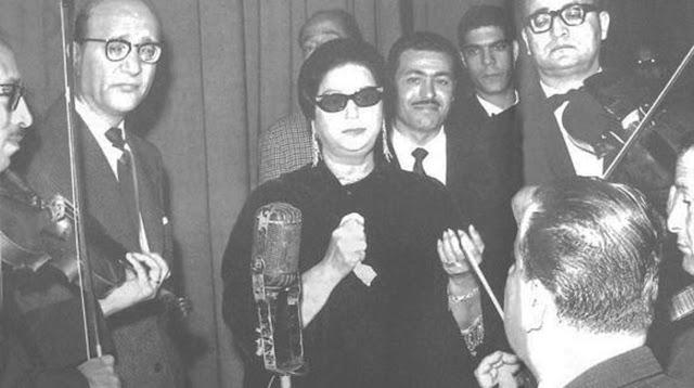 بعيد عنك - أم كلثوم - من حفل سينما قصر النيل 1 سبتمبر 1966