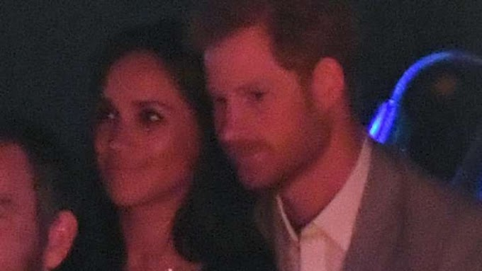 Meghan Markle Cozies Up to Prince Harry at the Invictus Games Closing Ceremony