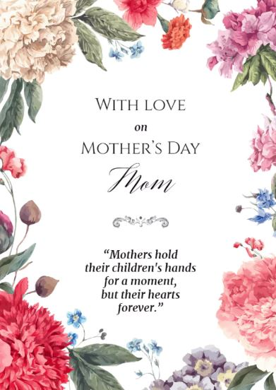 Moms mothers day touching mothers day quotes sayings messages i if every star was all diamonds m4hsunfo