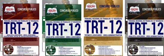 Apostila Concurso TRT-SC 12ª Região