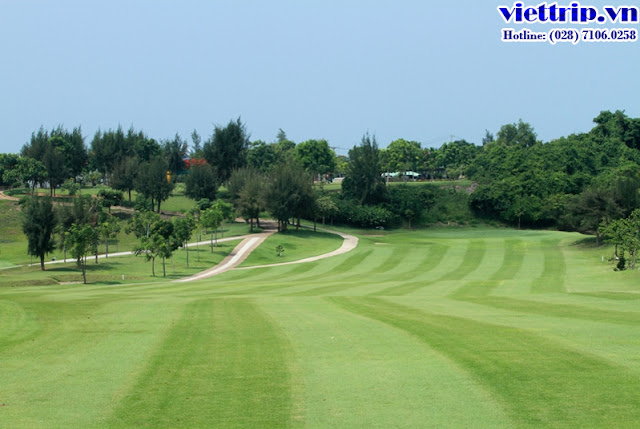 Sân Golf đẳng cấp cho du khách
