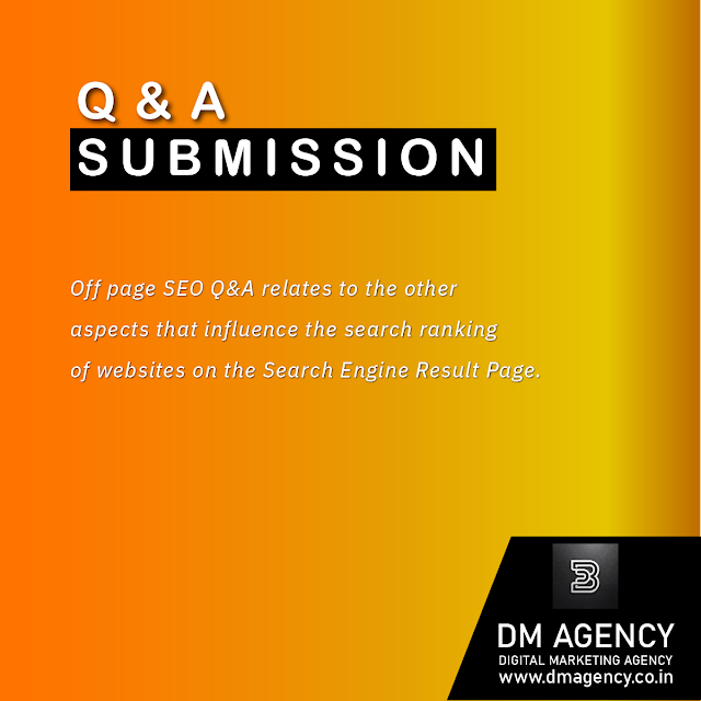 Q & A SUBMISSION