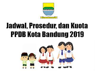 Jadwal dan Zonasi PPDB Kota Bandung 2019.
