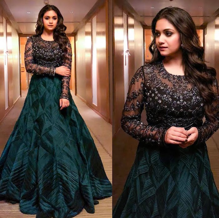 Keerthi Suresh Latest Photos -Extreme Collection of her HD pictures attracts you