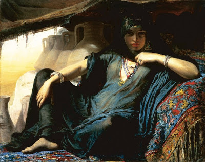 An Egyptian Pottery Seller near Gizeh (1876-78), Elisabeth Jerichau-Baumann