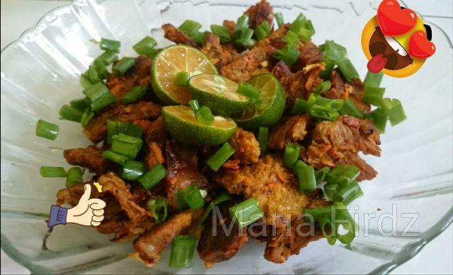 Resepi | Daging Salai Kunyit Black Pepper