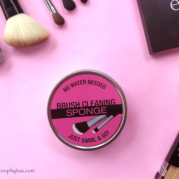 Review City Color Brush Cleaning Sponge No Water Needed