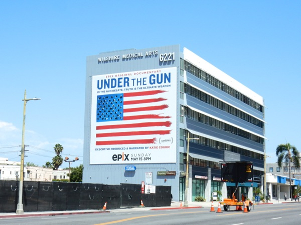 Giant Under the Gun billboard