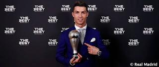 Cristiano finalista al mejor jugador del mundo