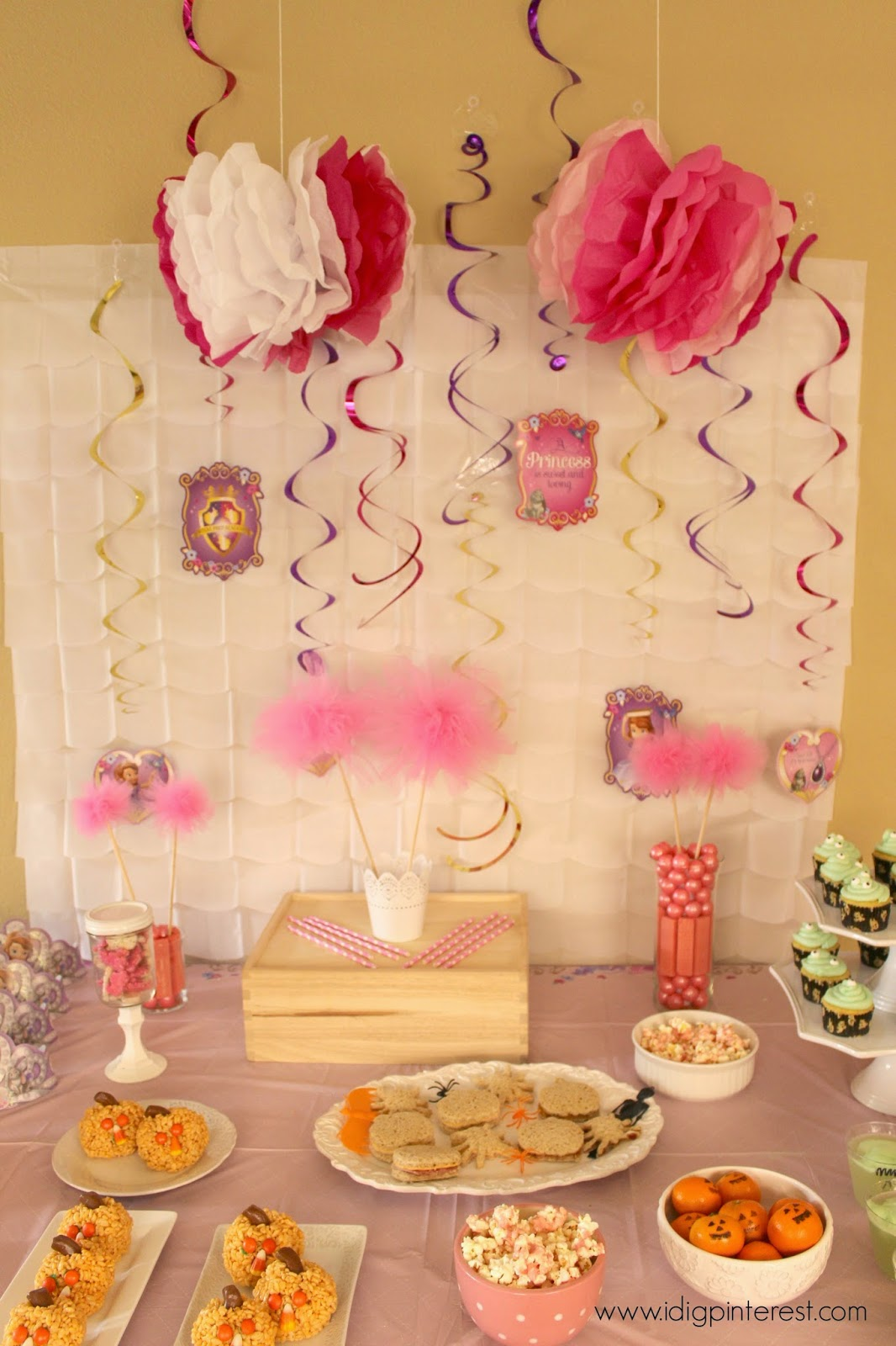 I Dig Pinterest Disney Jr Sofia The First Halloween Party