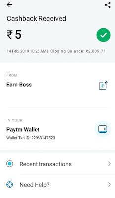 Earn Money online Free Rs.5 Paytm Cash 'pokerdangal' website 2019