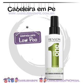 Leave-in Uniq One Green Tea - Revlon (Low Poo)
