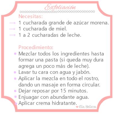 exfoliacion natural