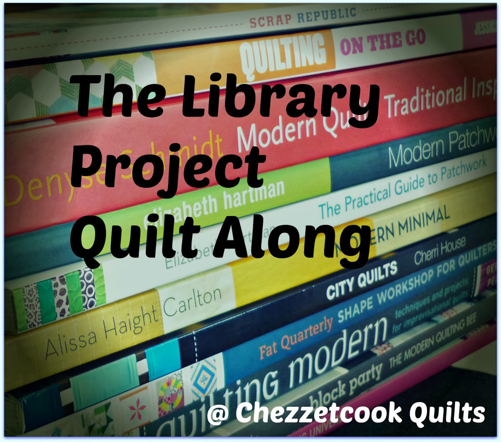 http://chezzetcookmodernquilts.blogspot.ca/p/the-library-project.html