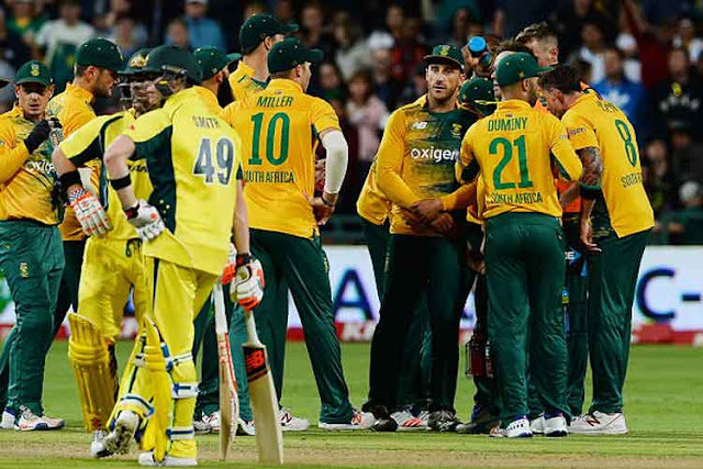 Aus vs SA 2nd ODI Full Scorecard 2016