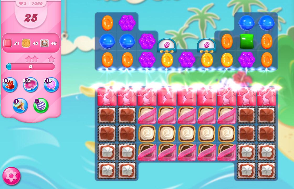 Candy Crush Saga level 7060