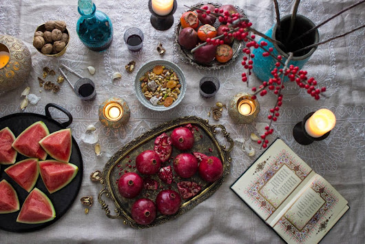 Happy Winter Solstice - Shabeh Yalda