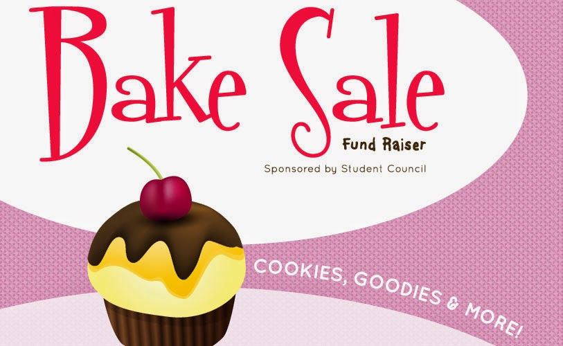 PCA&D Bake Sale Poster: Designed by Lisa DeAngelo