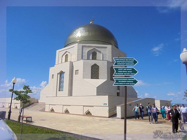 здание памятного знака в Болгарах