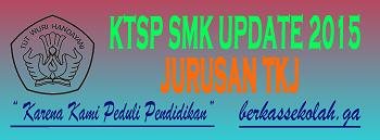 KTSP SMK JURUSAN TKJ (Teknik Komputer Jaringan)