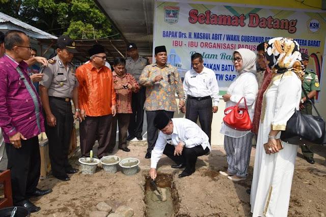 Padusi Minang Jakarta Bangun Masjid Untuk Panti Jompo Sicincin