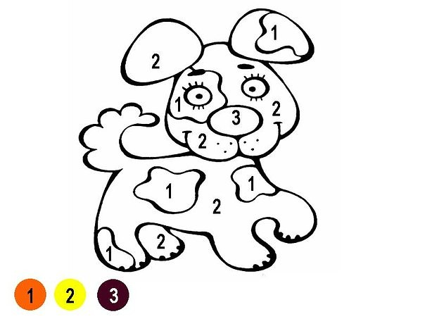 Numbers - 7 coloring pages download free | 453x604